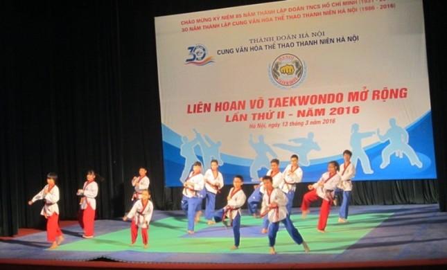 200 vận động viên tham gia liên hoan võ thuật Taekwondo ảnh 2