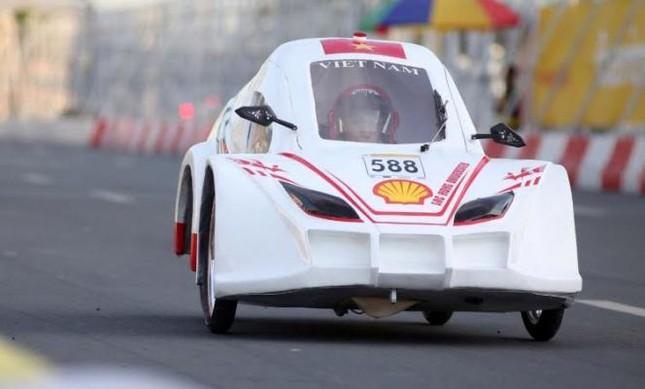 Việt Nam lần thứ 2 vô địch cuộc thi xe tiết kiệm nhiên liệu châu Á ảnh 1