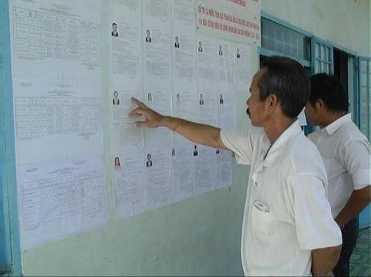Biên giới, vùng sâu ở ĐBSCL nhộn nhịp đón bầu cử ảnh 8