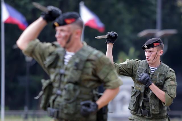 Binh sĩ Nga phô diễn sức mạnh chiến đấu tại Philippines ảnh 8