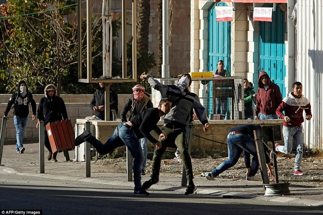 Jerusalem, Gaza, Bờ Tây bị nhấn chìm trong làn sóng bạo lực ảnh 8