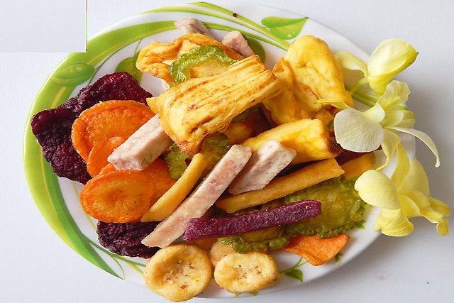 Những món ăn vặt không lo tăng cân ngày Tết ảnh 1