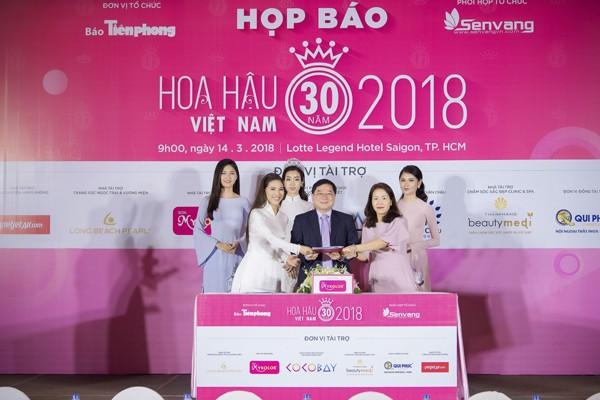 Hoa hậu Việt Nam 2018 sớm tạo sức hút lớn với các doanh nghiệp ảnh 4