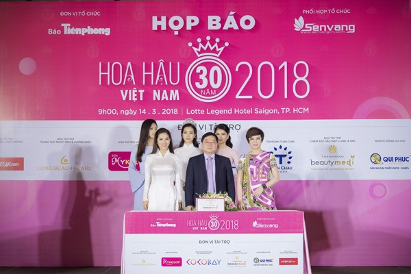 Hoa hậu Việt Nam 2018 sớm tạo sức hút lớn với các doanh nghiệp ảnh 5