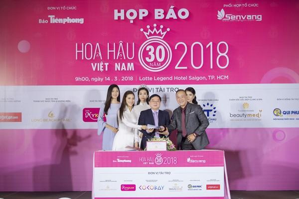 Hoa hậu Việt Nam 2018 sớm tạo sức hút lớn với các doanh nghiệp ảnh 6
