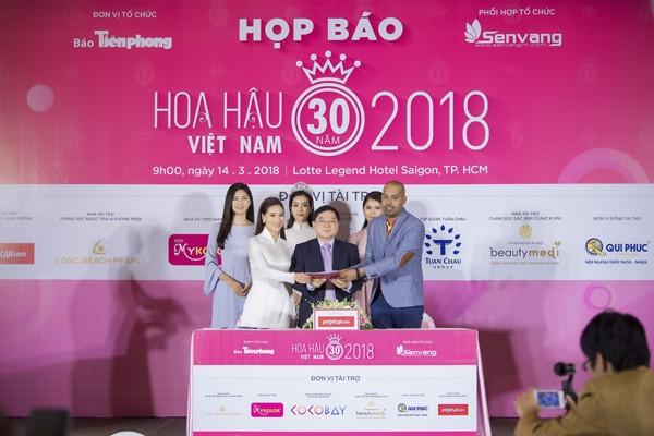 Hoa hậu Việt Nam 2018 sớm tạo sức hút lớn với các doanh nghiệp ảnh 8