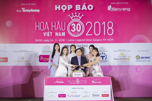 Hoa hậu Việt Nam 2018 sớm tạo sức hút lớn với các doanh nghiệp ảnh 7