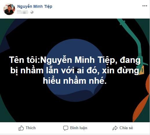 Diễn viên Minh Tiệp bức xúc vì bị nhầm với BTV dính scandal đánh em vợ ảnh 1