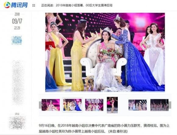 Báo chí nước ngoài hết lời khen nhan sắc tân Hoa hậu Việt Nam ảnh 2