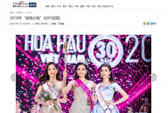 Báo chí nước ngoài hết lời khen nhan sắc tân Hoa hậu Việt Nam ảnh 3