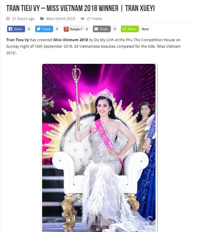 Báo chí nước ngoài hết lời khen nhan sắc tân Hoa hậu Việt Nam ảnh 10