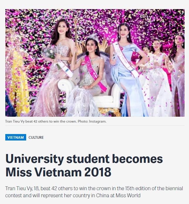 Báo chí nước ngoài hết lời khen nhan sắc tân Hoa hậu Việt Nam ảnh 7
