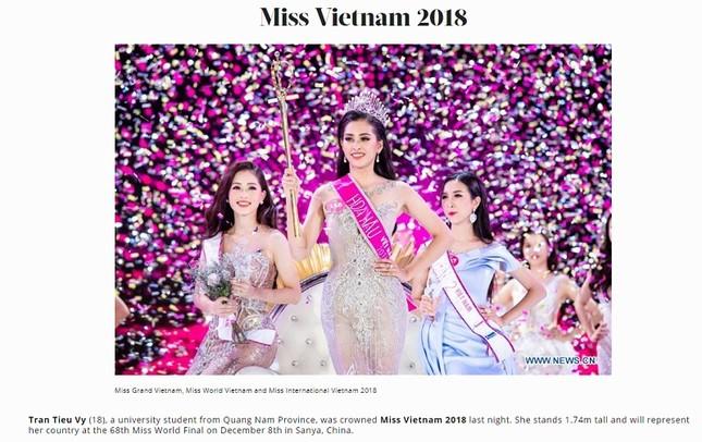 Báo chí nước ngoài hết lời khen nhan sắc tân Hoa hậu Việt Nam ảnh 9