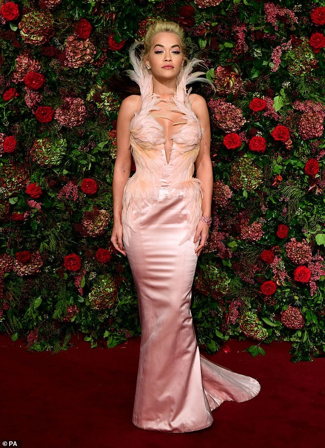 Diện đầm bó sát đẹp tựa nữ thần, Rita Ora gặp rắc rối khi di chuyển ảnh 1