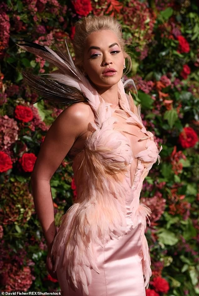 Diện đầm bó sát đẹp tựa nữ thần, Rita Ora gặp rắc rối khi di chuyển ảnh 4