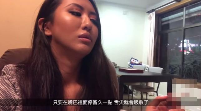 Nữ diễn viên Đài Loan đăng clip 'phê' cần sa lên mạng gây sốc ảnh 2