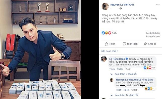 Việt Anh khoe bàn đầy tiền sau khi bị dân mạng chê bai nhan sắc thẩm mỹ ảnh 3