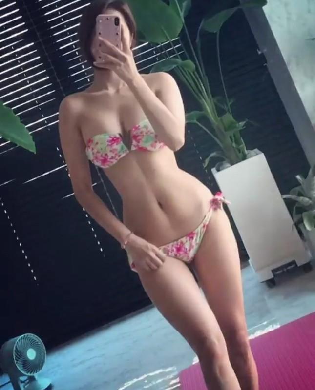 Đường cong gây chao đảo của 'Hoa hậu siêu vòng ba' Trung Quốc ảnh 8