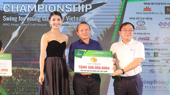 Toàn cảnh Gala trao giải Tiền Phong Golf Championship 2019 ảnh 8