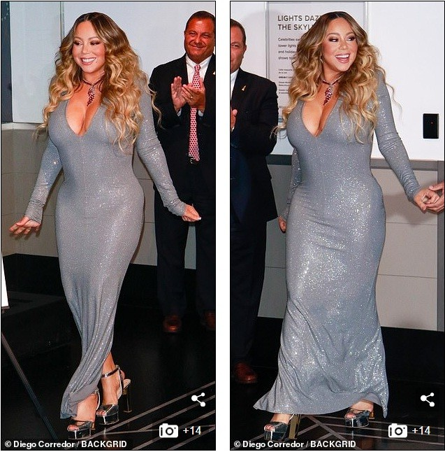 Mariah Carey 'bốc lửa' mừng tuổi 25 của All I Want For Chirstmas Is You ảnh 6