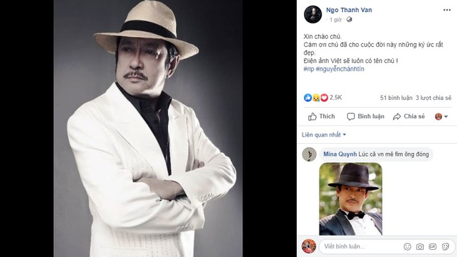 Giới nghệ sĩ bàng hoàng trước tin NSƯT Chánh Tín đột ngột qua đời ảnh 1