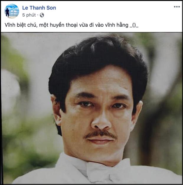 Giới nghệ sĩ bàng hoàng trước tin NSƯT Chánh Tín đột ngột qua đời ảnh 9