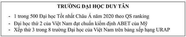 Đại học Duy Tân tuyển sinh 6 ngành học mới 2020 ảnh 4