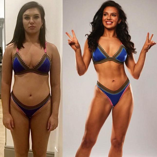 Mỹ nhân Anh gợi cảm khó cưỡng với bikini họa tiết da báo hậu giảm cân ảnh 6