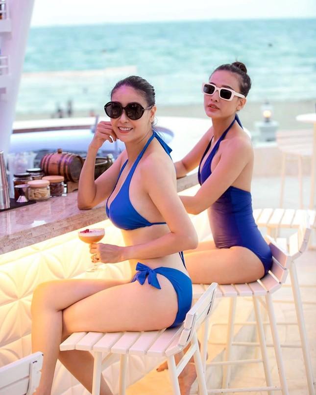 Hoa hậu Hà Kiều Anh tung ảnh bikini khoe dáng nuột nà gợi cảm ảnh 3