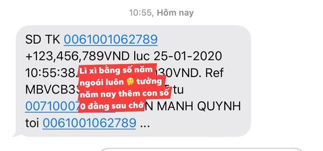Phan Mạnh Quỳnh lì xì tiền 'khủng' cho người yêu ảnh 4