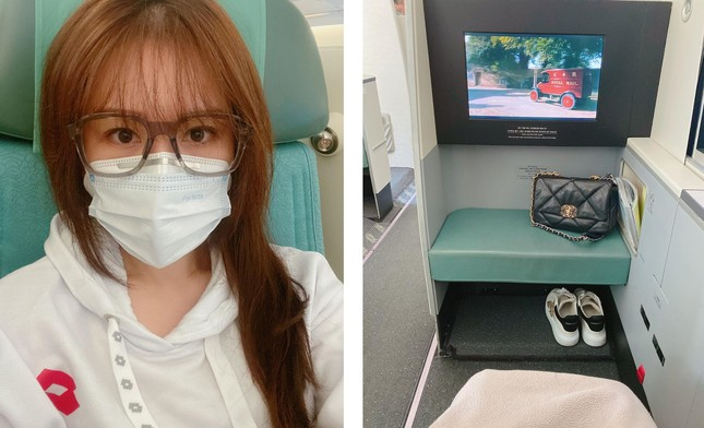 Sao Việt đi chơi Tết giữa 'bão' virus Corona: Ai cũng kín mít khẩu trang ảnh 3