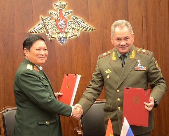 Hợp tác quốc phòng là trụ cột trong quan hệ Việt-Nga ảnh 2
