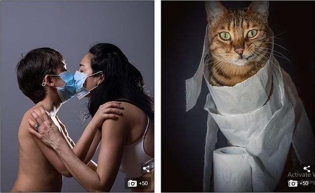 Những bức ảnh ấn tượng nhất về cuộc sống cách ly vì COVID-19 trên toàn cầu ảnh 15