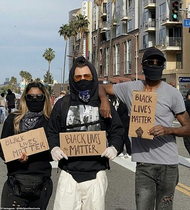 Loạt sao Hollywood liên tục xuống đường biểu tình ủng hộ người da đen ảnh 10