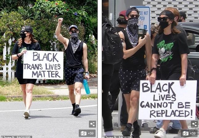 Loạt sao Hollywood liên tục xuống đường biểu tình ủng hộ người da đen ảnh 9