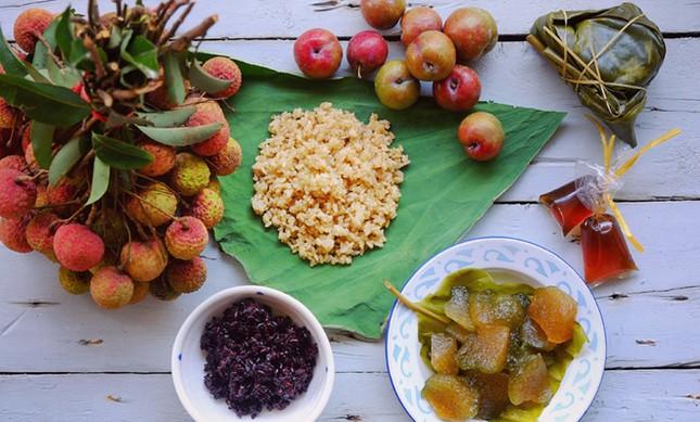 Các loại trái cây nào được chọn trong Tết Đoan Ngọ?