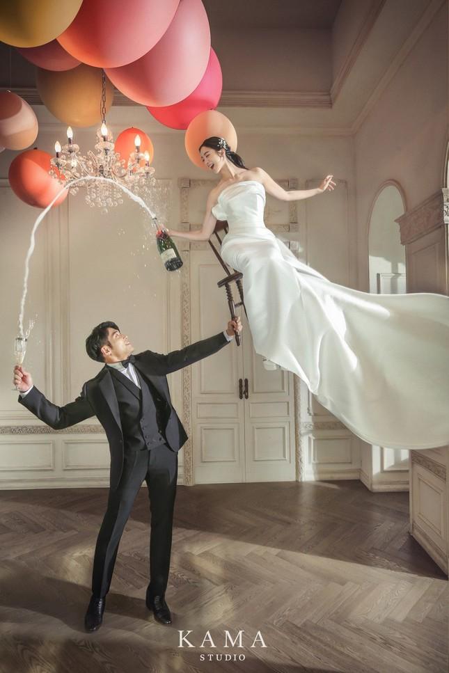 Ảnh cưới đậm chất võ thuật của mỹ nhân Wonder Girls và cao thủ taekwondo ảnh 11