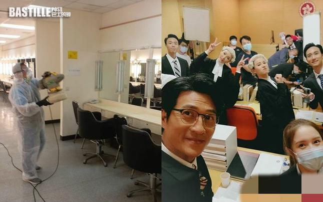 Bên trong đài TVB sau khi bị phong toả do nữ ca sĩ mắc COVID-19 ảnh 2