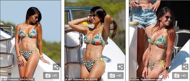 Messi ôm ấp bà xã nóng bỏng trên du thuyền, cùng gia đình Suarez đi nghỉ mát ảnh 3