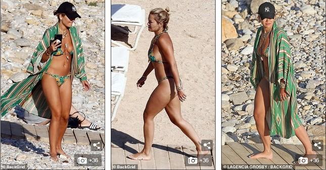 Rita Ora bị dân mạng chê khi mặc đồ bơi ảnh 1