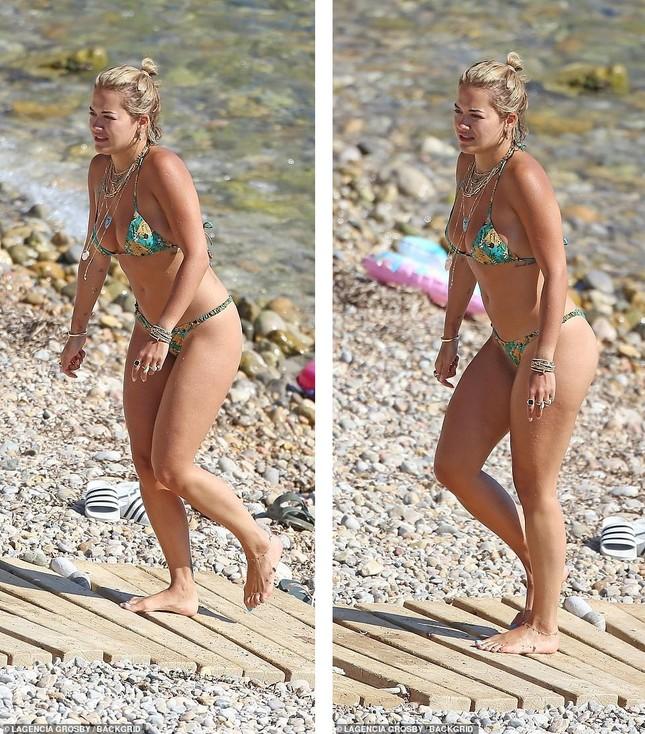 Rita Ora bị dân mạng chê khi mặc đồ bơi ảnh 6