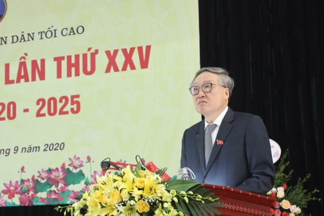 Ông Lê Hồng Quang làm Bí thư Đảng bộ Tòa án nhân dân tối cao ảnh 3