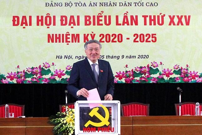 Ông Lê Hồng Quang làm Bí thư Đảng bộ Tòa án nhân dân tối cao ảnh 4