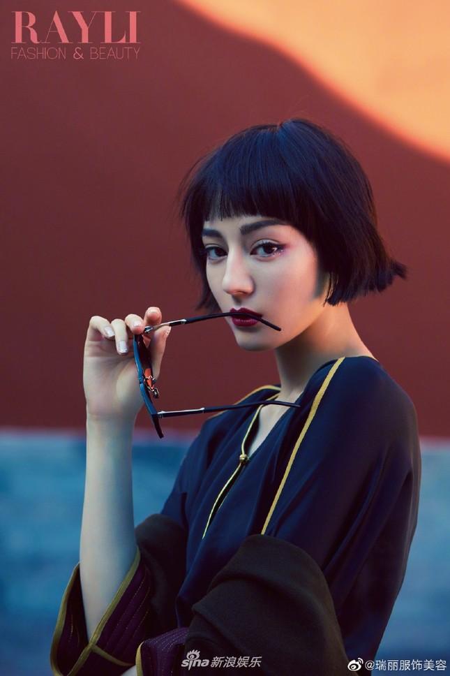 Địch Lệ Nhiệt Ba 'xuống tóc' đẹp lạ trong Tử Cấm Thành gây 'bão' mạng ảnh 6