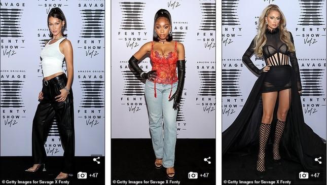 Bella Hadid, Irina Shayk và Cara Delevingne quy tụ trong đêm hội nội y của Rihanna ảnh 9