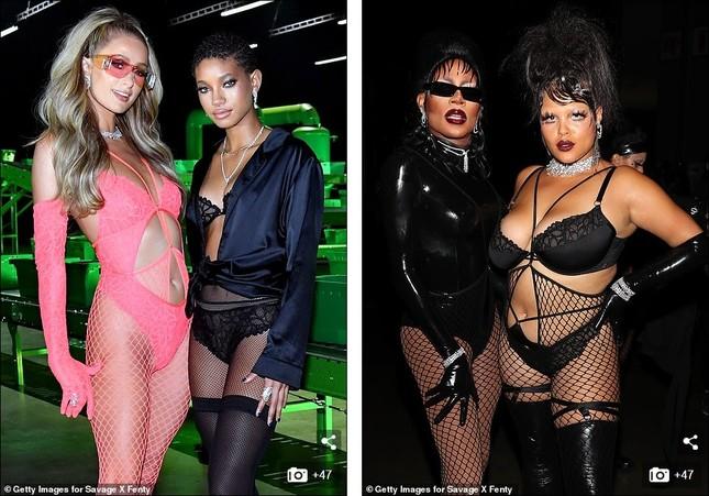 Bella Hadid, Irina Shayk và Cara Delevingne quy tụ trong đêm hội nội y của Rihanna ảnh 11