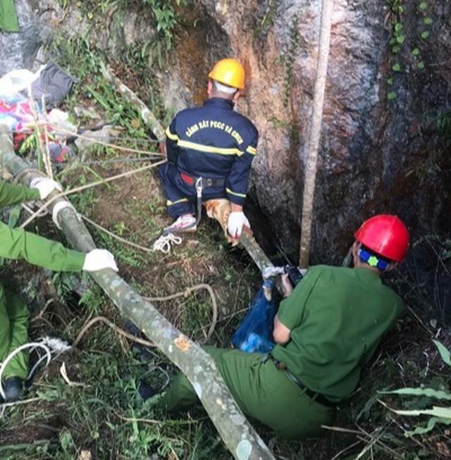 Đi tìm đá quý, nam thanh niên rơi xuống hang sâu 147m ảnh 2