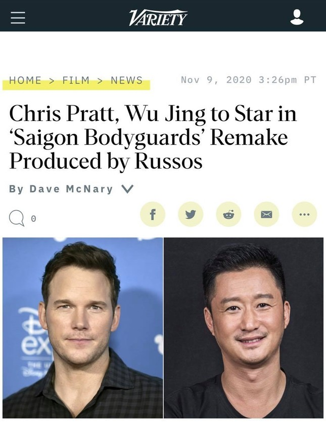 Loạt báo quốc tế đưa tin Hollywood làm lại 'Vệ sĩ Sài Gòn' của Việt Nam ảnh 2