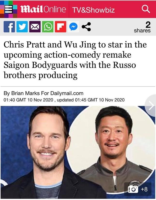 Loạt báo quốc tế đưa tin Hollywood làm lại 'Vệ sĩ Sài Gòn' của Việt Nam ảnh 3