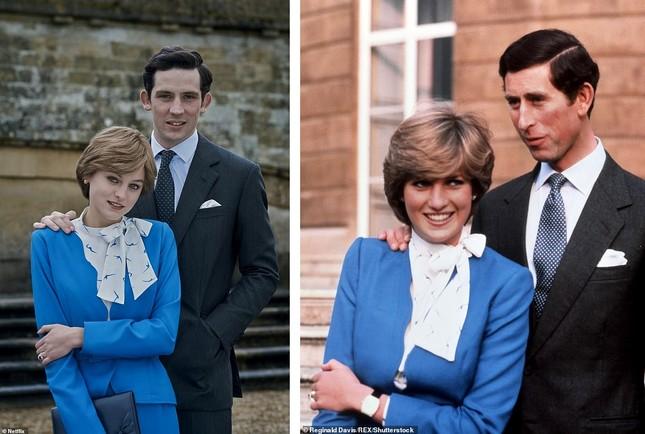 Mỹ nhân đóng Công nương Diana 'thả rông' táo bạo trên tạp chí ảnh 8
